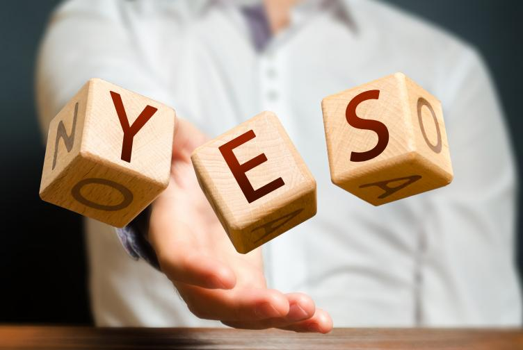 picture of yes dice